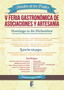 CARTEL FERIA HONDON IMPRENTA